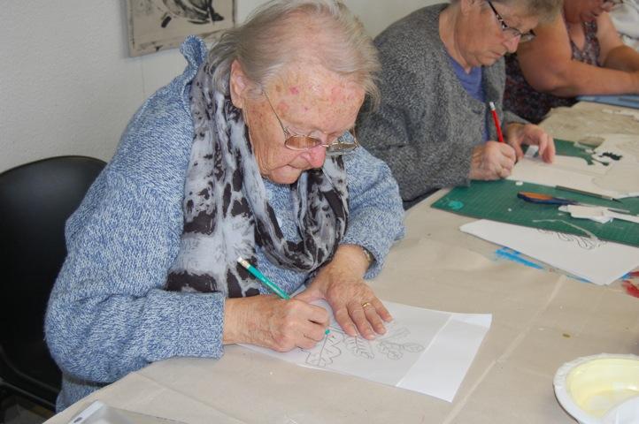 Participante à l'atelier