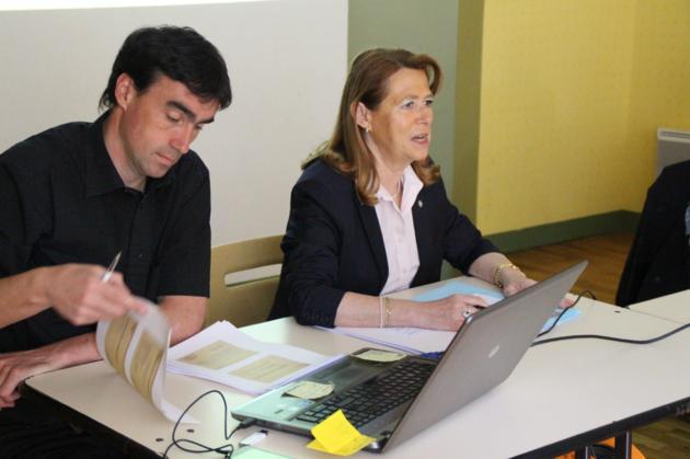 photo madame Lemaitre et Monsieur Thierry Leroyer