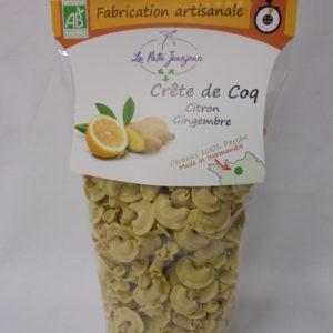 Crête de Coq -Citron Gingembre
