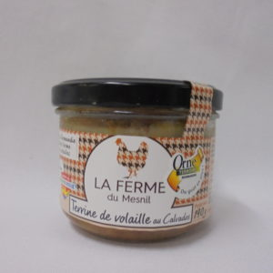 Terrine de volaille au Calvados