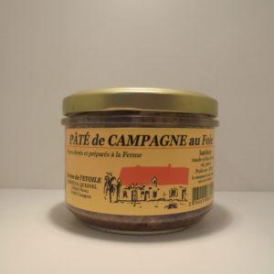 Collectif d'Urgence - pâté de campagne au foie 200g