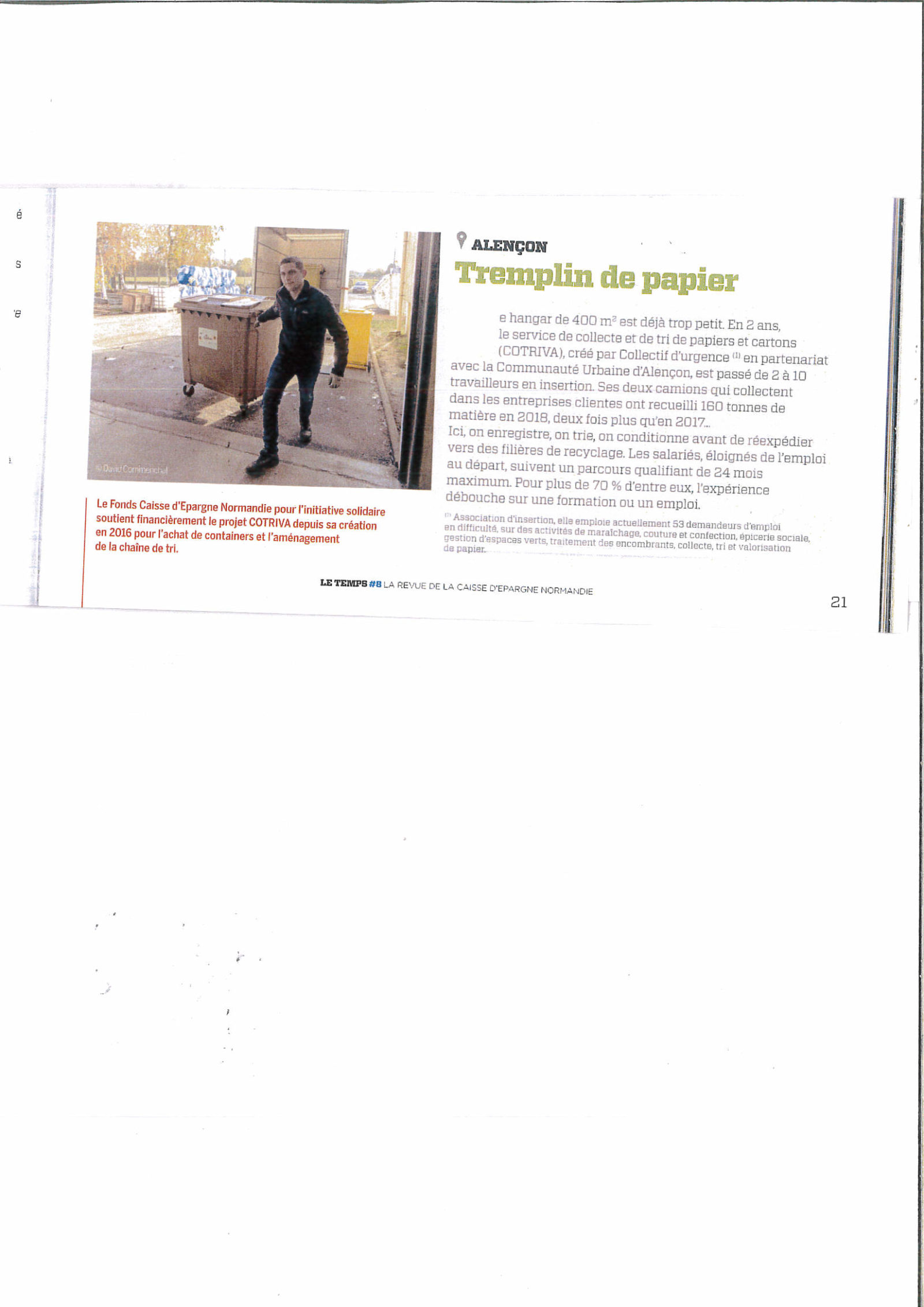 Collectif d'Urgence - Cotriva