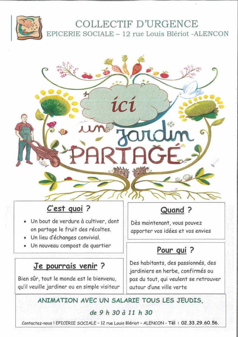 Collectif d'Urgence - Animation jardin partagés