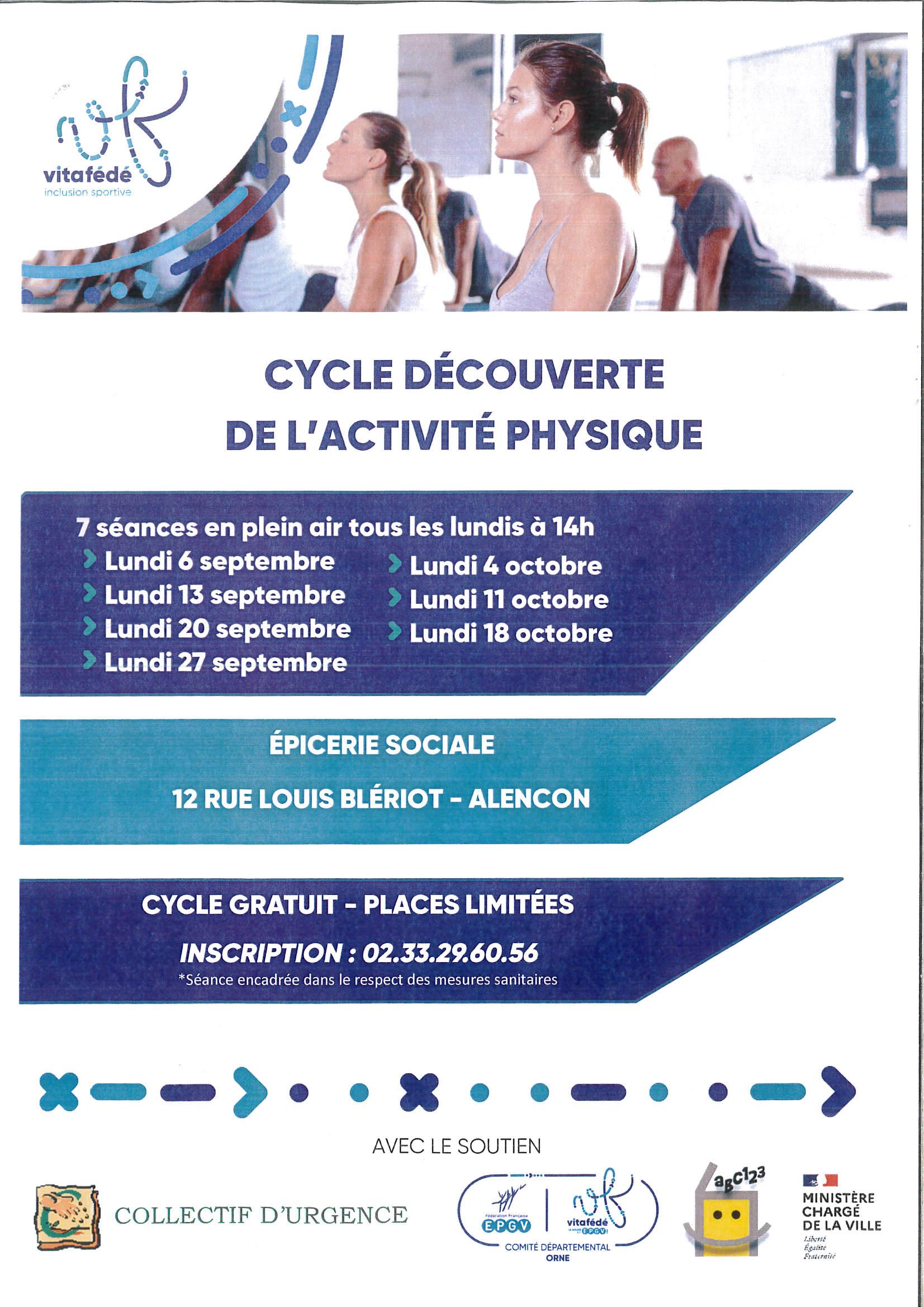Collectif d'Urgence - affiche cycle découverte